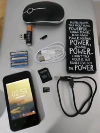 Job lot printer, smartphone, power bank and mouse