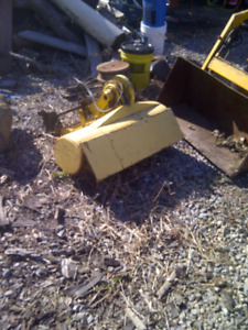 John Deere snowblowers rototillers and tractors and more oh my!