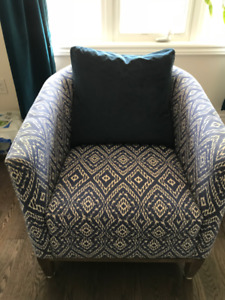 DREW CHAIR (PURCHASED FROM CRATE AND BARREL)