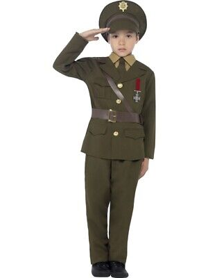 Armee Soldat Uniform Offizier - Armee Soldat Kostüm Kind