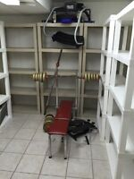 Bench Press, weights, other
