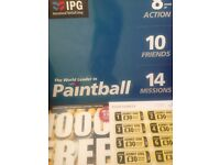 10 Tickets to International Paintball Group + 1000 Free paint balls