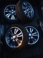 22 inch rims $850 obo need sold