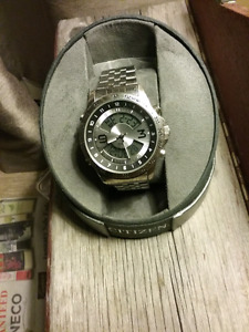Citizen with with silver lock and adjustable band