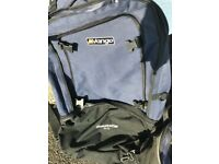 VANGO 80L & 20L Rucksack, great condition, £30