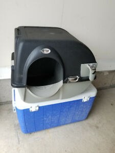 OMEGA PAW LARGE ELITE - SELF CLEANING LITTER BOX - NEW