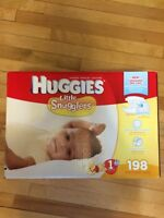 Huggies diapers size 1 - new unopened box