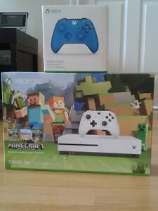 X BOX ONE S WITH AN EXTRA CONSOLE