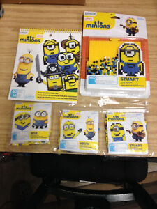 Perler Beads Minion Kits + Pattern Book All NIB