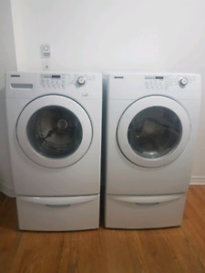Samsung // Washer, Dryer - Laveuse, Sécheuse
