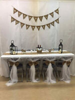 Country Rustic Wedding Decor for sale