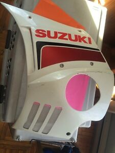1985 Suzuki GSX750EF Left Side Panel Cover Regina Regina Area image 1