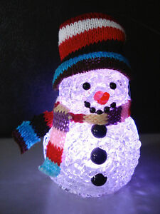 PATIO PARTY Illuminated LED ICEMAN Year-Round Fun—NEW BOXED