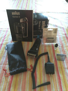 Braun Electric Shaver wet & dry Series 5 5040s with new head