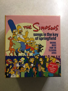 """The Simpsons """"SONGS IN THE KEY OF SPRINGFIELD"""" Ltd.Ed.Puzzle Box"""