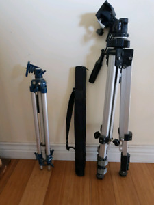 Sold! 2 tripods and one monopod