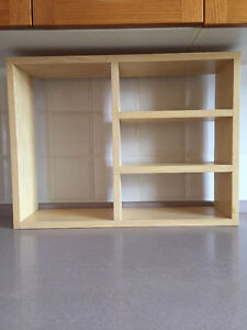 Wood Display Shelves