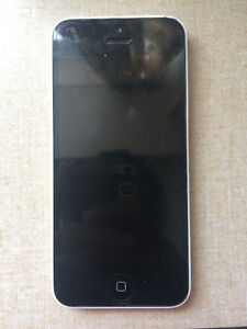 White Iphone 5C, Great Condition, Screen won't turn on