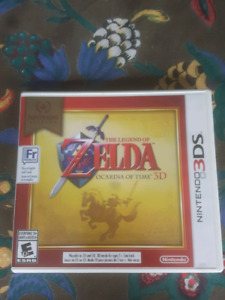 The Legend Of Zelda Ocarina Of Time 3DS Nintendo Selects