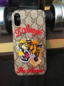 IPHONE X Gucci-Bee Case Cover 4 Models Available