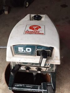 5 hp air cooled outboard motor
