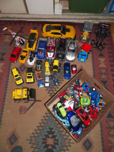 Tons of Toy Cars Trucks etc...