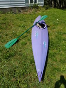 Older style kayak