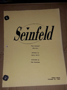 """SEINFELD copy of Script """"The Contest"""" + 3 EW special issues"""