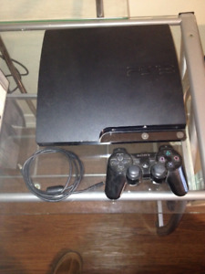 ps3 playstation 3 (without power cord or hdmi cord)