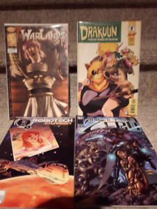 4 Comic books in good condition. $3.00 for the lot.