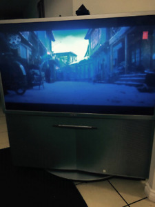 Sony Projection Tv 55' mint condition with HDMI PORT