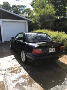 BMW 323is convertible with hardtop /E36 BC Racing