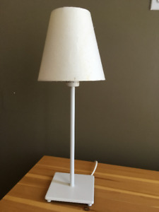 Lampe d'appoint Ikea blanche