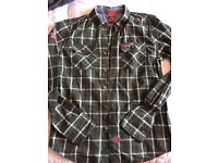 Men's Superdry lumberjack shirt