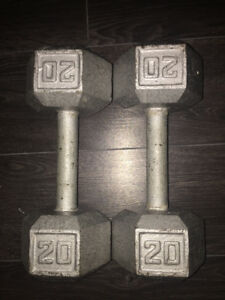 Dumb bells & bench press machine with bar