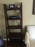 Two Ladder-style bookcase