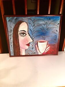 Original oil painting on canvas / Russian artist