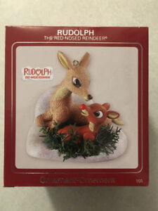"""""""RUDOLPH THE RED-NOSED REINDEER"""" Carlton Cards Heirloom Ornament"""