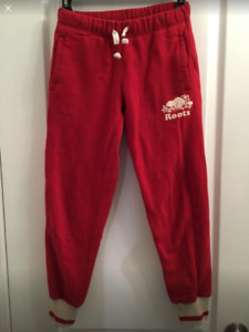 Roots girl pants Size 8-10
