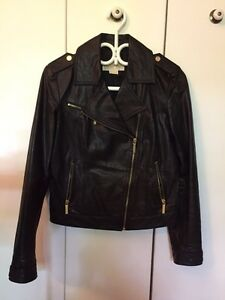 Michael Kors women's leather jacket