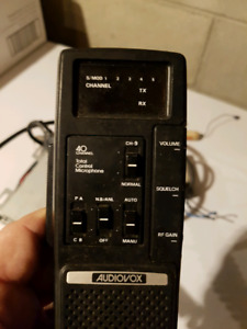 Audio Vox CB radio