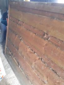 Waney Lap Fence Panel