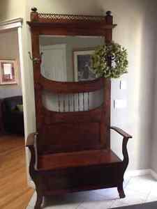 Antique Entrance Hall Stand