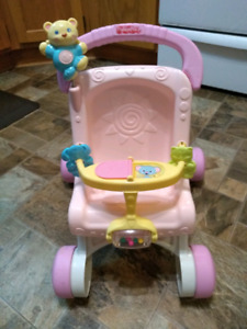 Fisher Price Doll's Stroller / Walking Support