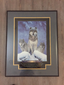 Framed Motivational Posters - Power of a Leader & Lead The Way
