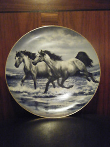 "Horses In Action ""The Challenge"" Collector Plate"