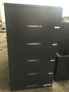 CLASSEUR FILIERE 5 TIRROIRS LATERAL 5 DRAWERS FILING CABINET