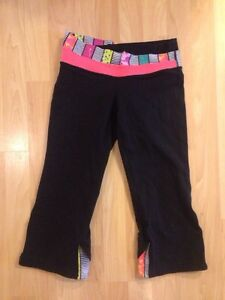 Ivivva Crops (Reversible) size 14