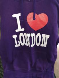 Purple LONDON hooie