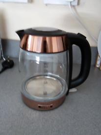 Rose gold kettle